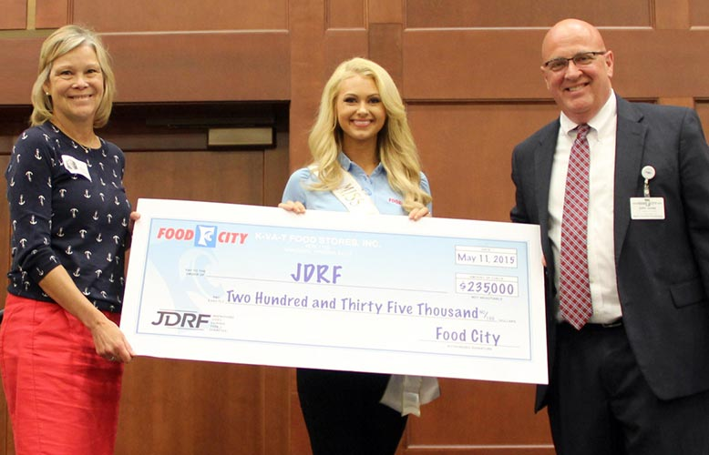 Food City Supports Juvenile Diabetes Research Foundation