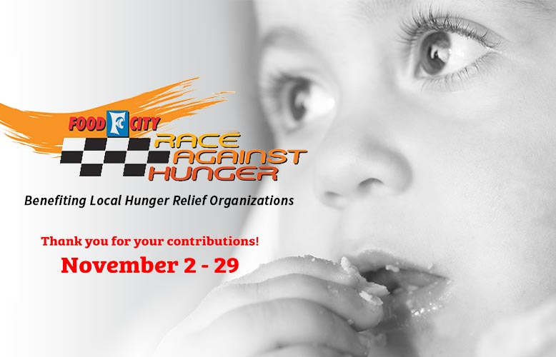 "Food City Kicks Off Annual ""Race Against Hunger"" Promotion"