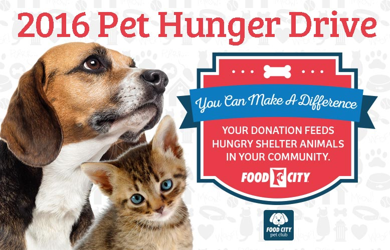 Food City Hosts Annual Pet Hunger Drive