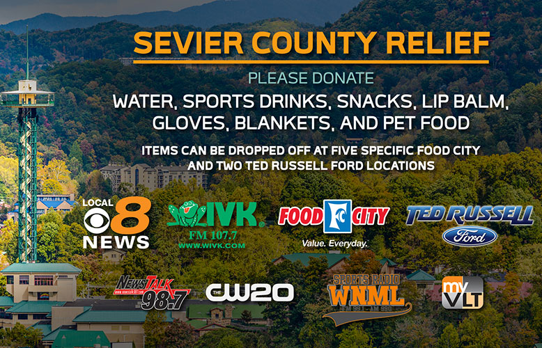 Sevier County Relief Fund for Fire Victims