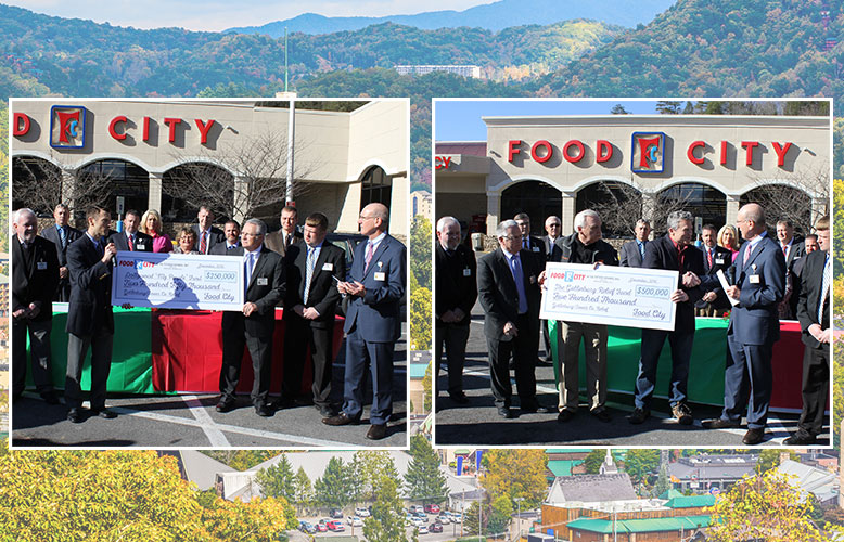 Food City Provides $750,000 to Aid Gatlinburg Fire Recovery