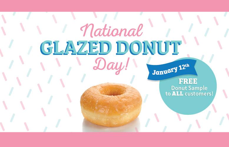 National Glazed Donut Day