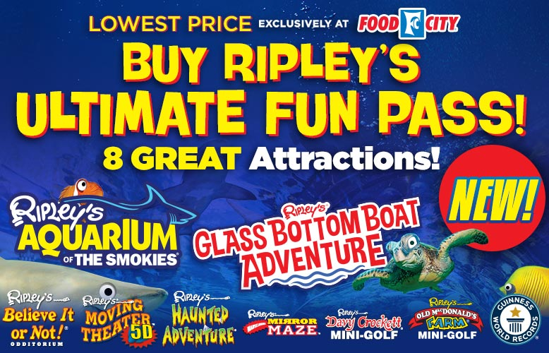 Ripley's Ultimate Fun Pass Sale