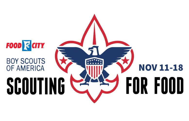 2017 Food City & Sequoyah Council Boy Scouts of America Scouting for Food