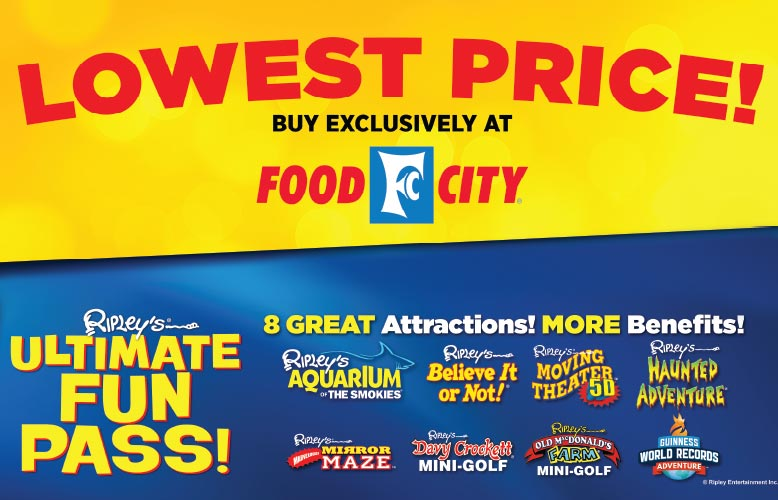 Ripley's Ultimate Fun Pass Sale