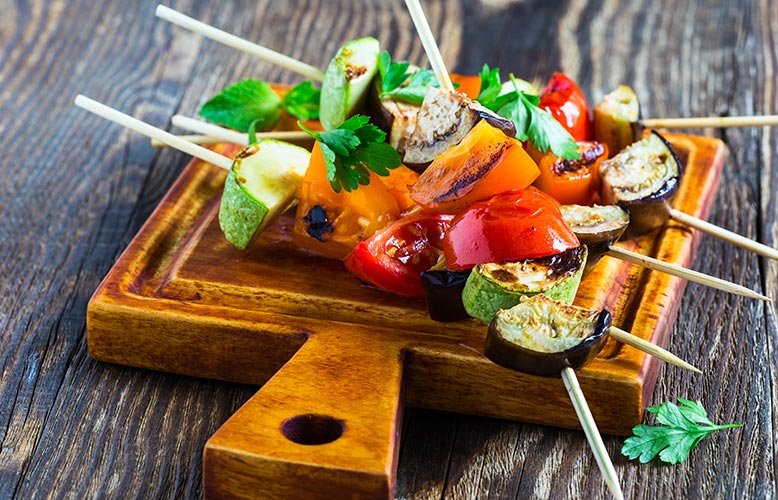 Wellness Club — Grilling Fruits and Vegetables