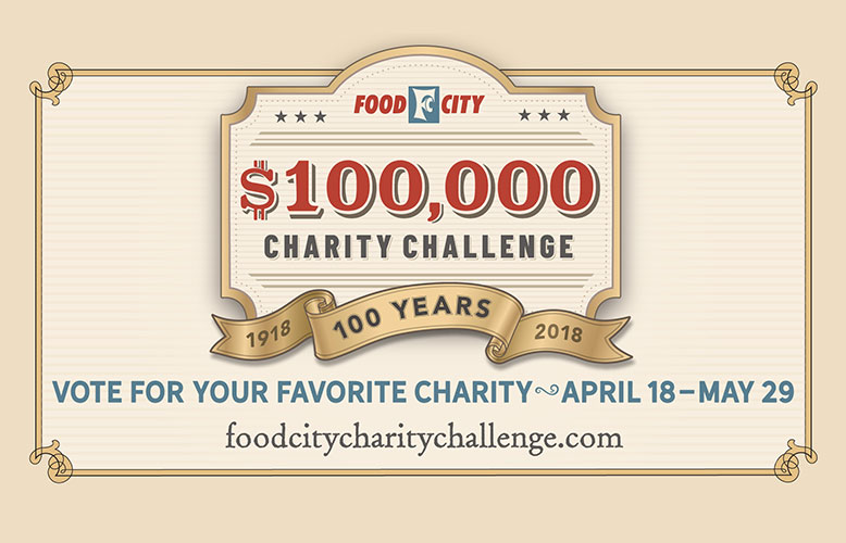 food city awards over 100 000 to charity in celebration of 100th anniversary