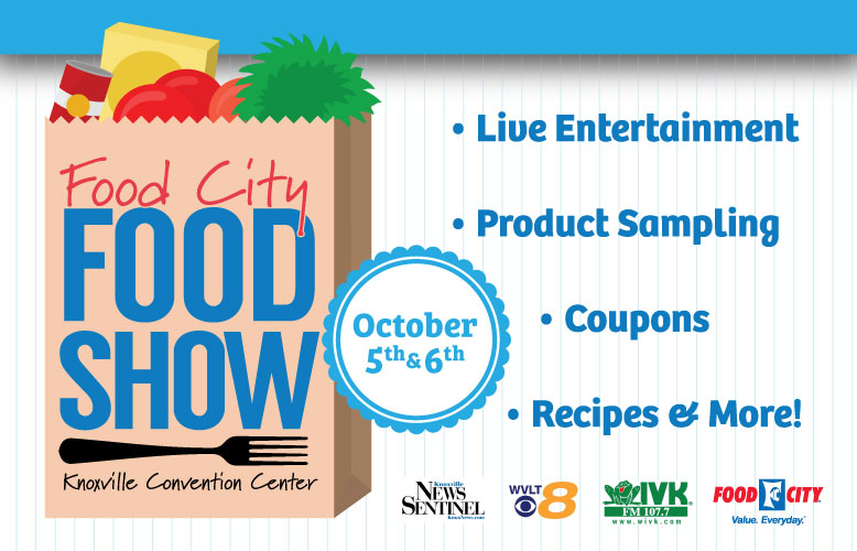 food city food show returns to knoxville convention center