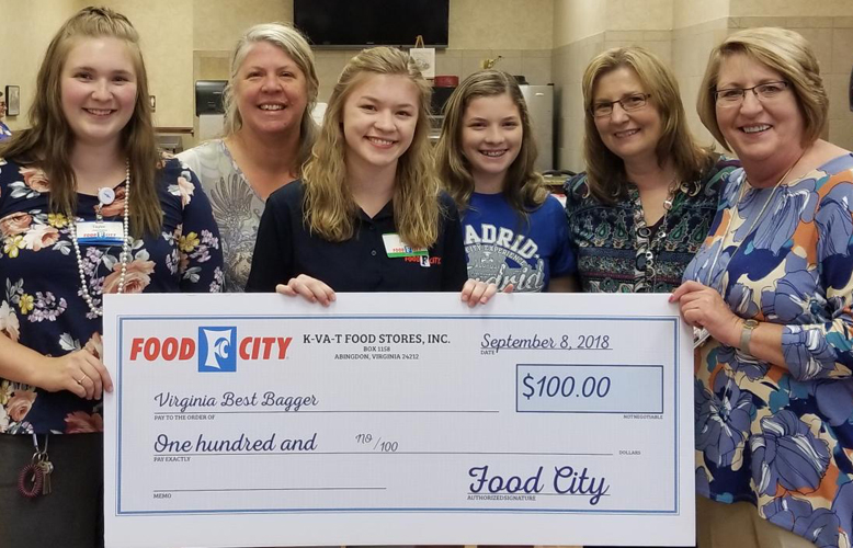 galax va food city associate competes in national best bagger championship