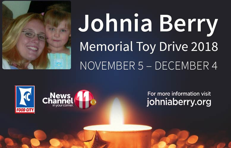 Food City to Host Annual Johnia Berry Toy Drive
