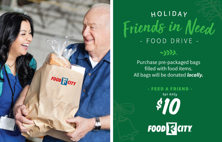 Food City Holiday Friends in Need Food Drive