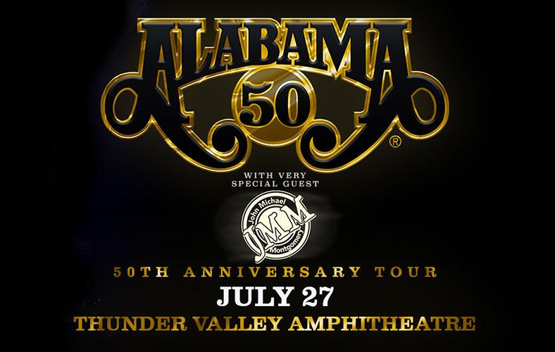 Alabama — live in concert
