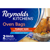 Reynolds  Turkey Size Oven Bags - 2 Ct