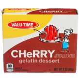 Valu Time Cherry Gelatin Dessert