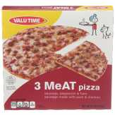 Valu Time 3 Meat Pizza
