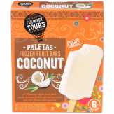 Culinary Tours Paletas Coconut Frozen Fruit Bars