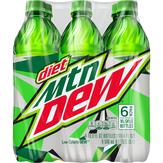 Mountain Dew Diet Soft Drink 6 Pk, 6 Pk.