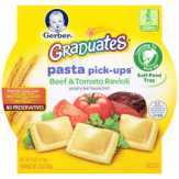 Gerber Graduates  Beef & Tomato Ravioli Pasta Pick-ups