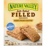 Nature Valley Soft Baked Filled Squares Honey Pea...