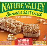 Nature Valley Cashew Sweet & Salty Nut Granol...