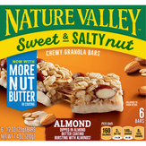 Nature Valley Granola Bars, Chewy, Almond, Sweet & Salty Nut