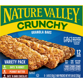 Nature Valley Crunchy Granola Bars Variety Pack -...