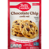 Betty Crocker Chocolate Chip Snack Size Cookie Mix