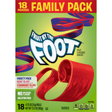 Fruit By The Foot Snacks, Variety Pack, Mega Pack