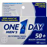 One A Day Men's Multivitamin Tablets 50+ Heal...