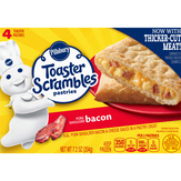 Pillsbury Bacon Toaster Pastries - 4 Ct. Toaster Scrambles
