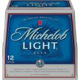 Michelob Light Beer, 12 Pk. Bottles