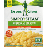 Green Giant  Shoepeg White Corn & Butter Sauce