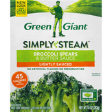 Green Giant Broccoli Spears & Butter Sauce