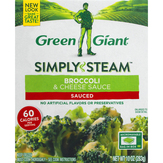 Green Giant Broccoli & Cheese Sauce Steamers