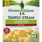 Green Giant  Steamers Cauliflower & Cheese Sauce