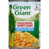 Green Giant  Whole Kernel Sweet Corn 50% Less S...