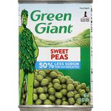 Green Giant 50% Less Sodium Sweet Peas