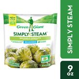 Green Giant Steam Seasonal Veg Brussels Sprouts W Sea Salt&pepper