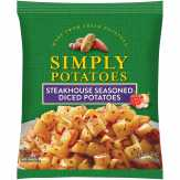 Crystal Farms  Simply Potatoes Steakhouse Seasoned Diced Potatoes