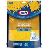 Kraft  Shredded Fat Free Cheddar Cheese