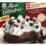 Marie Callender's Chocolate Satin Chocolate Satin Mini Pies