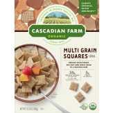 Cascadian Farm Cereal, Organic, Multi Grain Squares