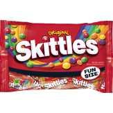 Skittles Bite Size Candies, Original, Fun Size