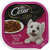 Cesar Canine Cuisine, Gourmet Filets Prime Rib Dog Food