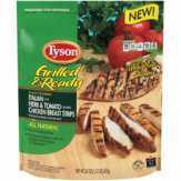 Tyson Italian Herb & Tomato Flavored Grilled & Ready Chicken Breast Strips
