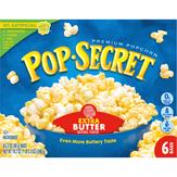 Pop Secret Premium Popcorn, Extra Butter