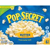 Pop Secret Popcorn, Premium, Butter