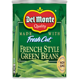 Del Monte  Blue Lake Green Beans French Style