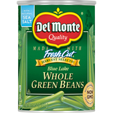 Del Monte Harvest Selects Whole Green Beans, Can