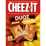 Cheez-it Duoz Bacon&cheddar Crackers